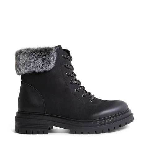 BELLLA BLACK NUBUCK