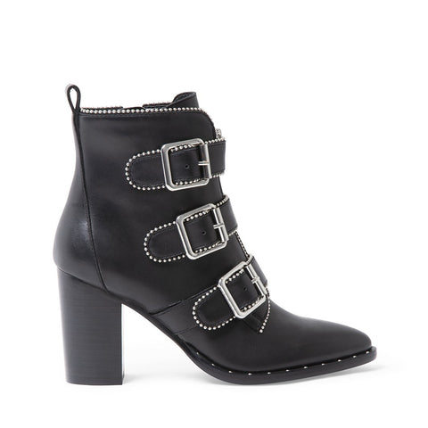 HATTIE BLACK LEATHER