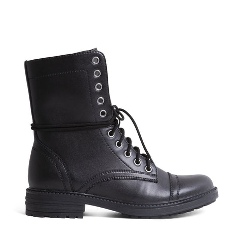 HUNTERR WATERPROOF BLACK LEATHER