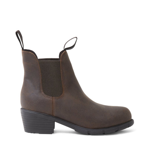JAMIE WATERPROOF BROWN LEATHER