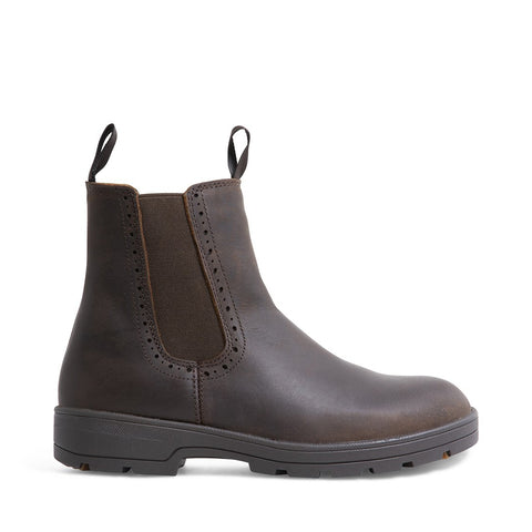 JULIO WATERPROOF BROWN LEATHER