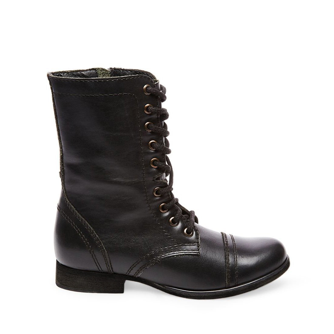 4bc4e3c5fc0 TROOPA BLACK LEATHER – Steve Madden Canada