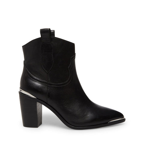 ZORA BLACK LEATHER