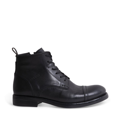 ADAIR BLACK LEATHER