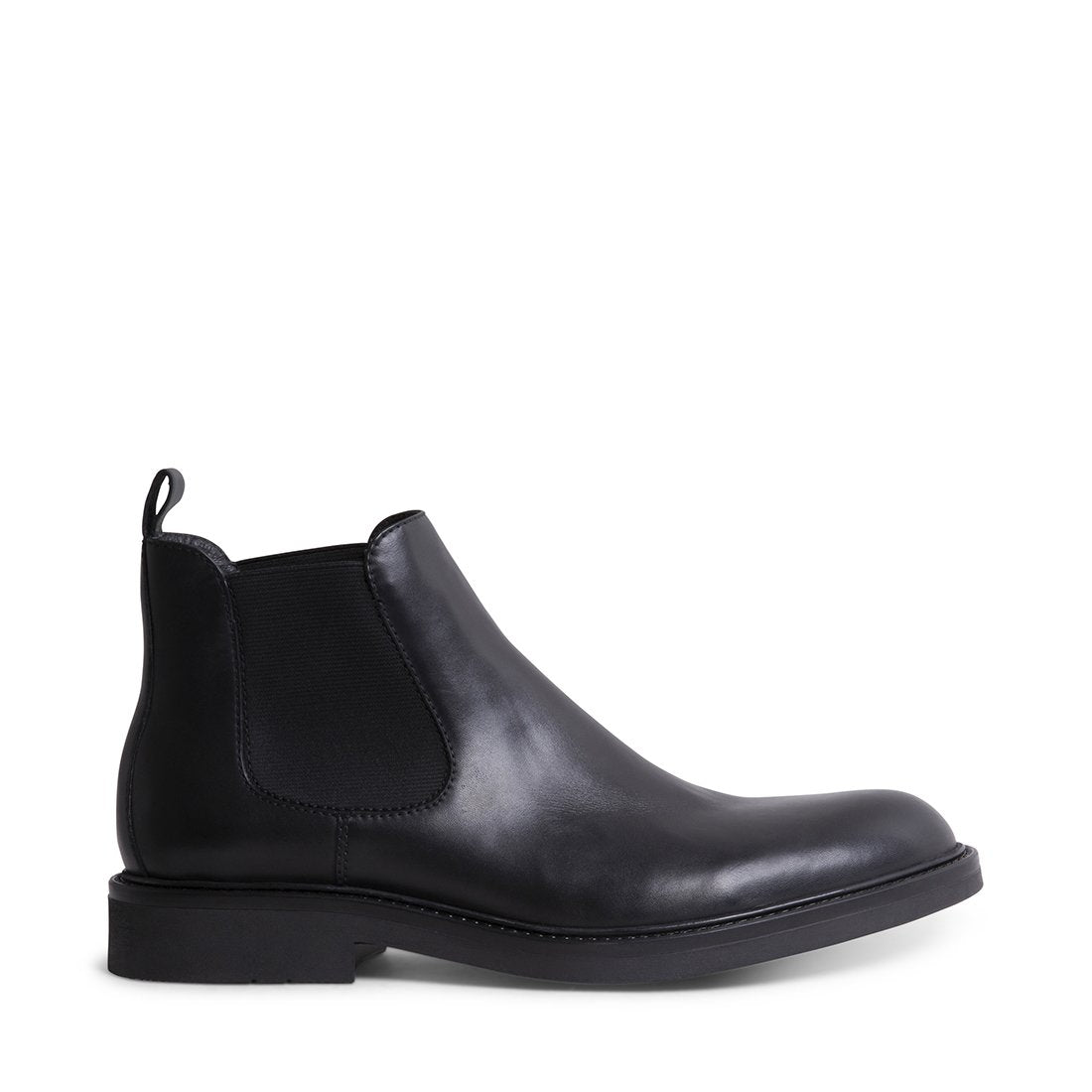 Andree Black Leather by Steve Madden
