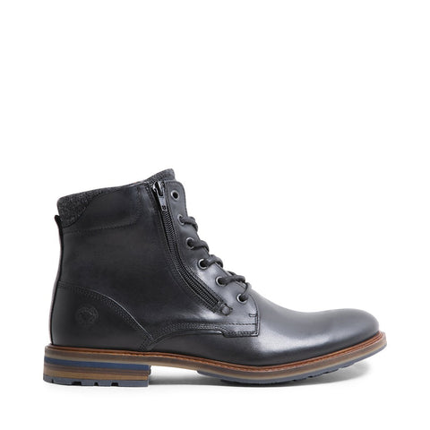 BALDWIN BLACK LEATHER