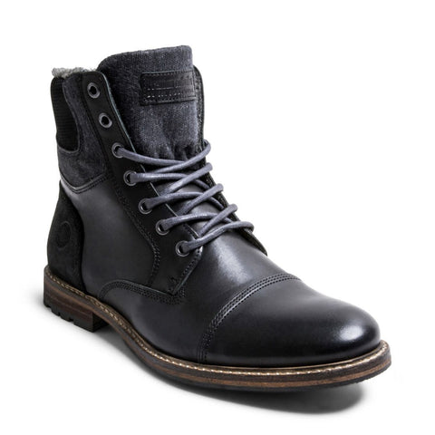BARRIKF BLACK LEATHER