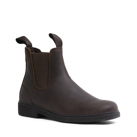 BLAYDENN WATERPROOF BROWN LEATHER