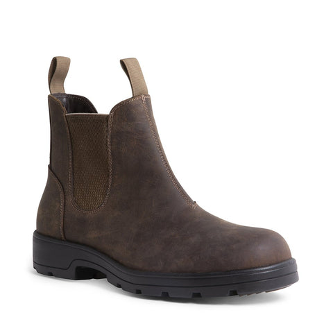BUILDER WATERPROOF BROWN LEATHER