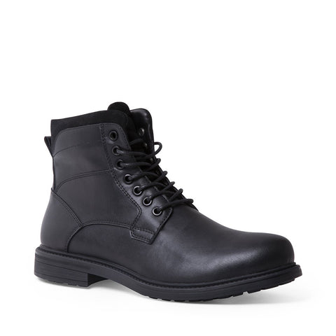 CAMDEN WATERPROOF BLACK LEATHER