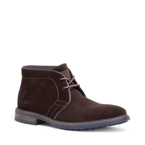CHARLEZ BROWN SUEDE