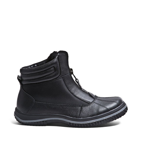 MARLONN BLACK LEATHER