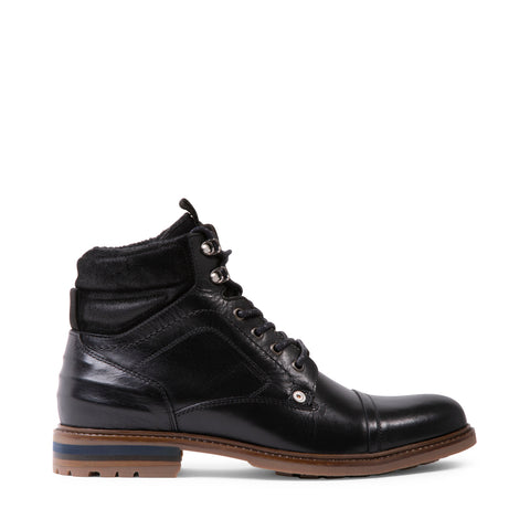 MILFORD BLACK LEATHER