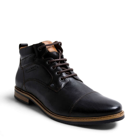 MLEONARD BLACK LEATHER