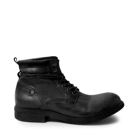 MTREVOR BLACK LEATHER