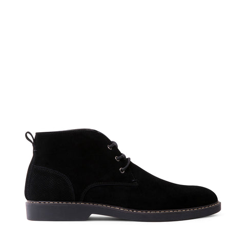 RAMPART BLACK SUEDE