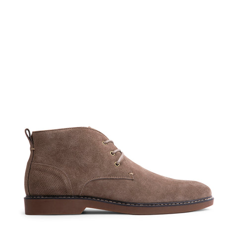 RAMPART TAUPE SUEDE