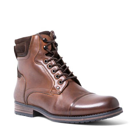 RAWSON WATERPROOF TAN LEATHER