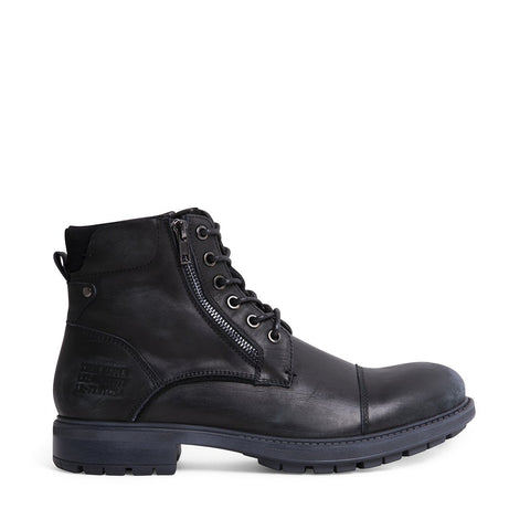 SURPLUS BLACK LEATHER