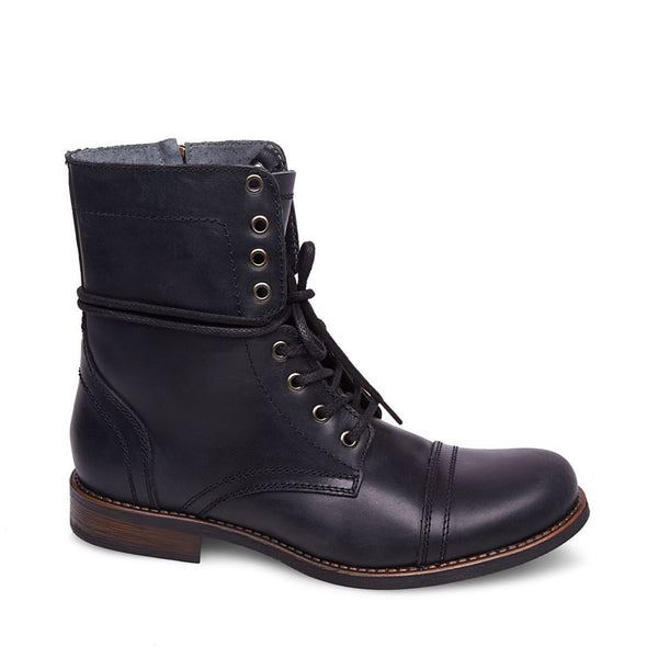 90399dd8226 TROOPAH-C BLACK LEATHER – Steve Madden Canada