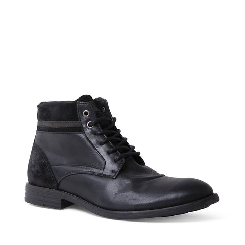 UPSONN BLACK LEATHER