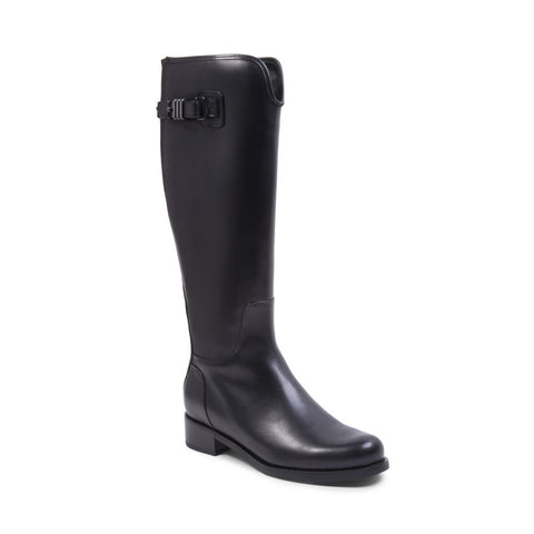 VALERIE WATERPROOF BLACK LEATHER