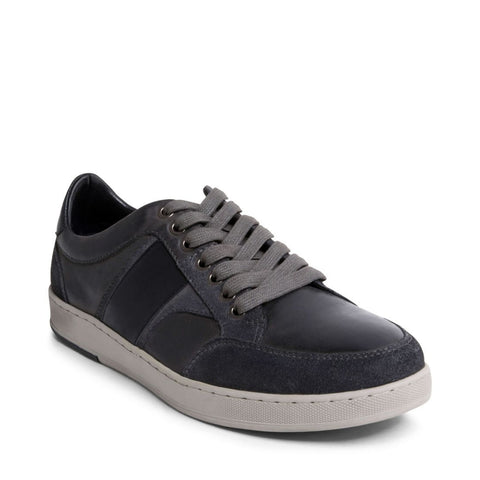 CATCHURR GREY LEATHER