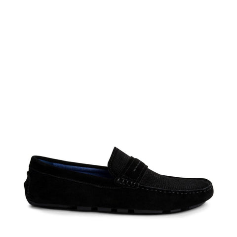 GARVINN BLACK SUEDE