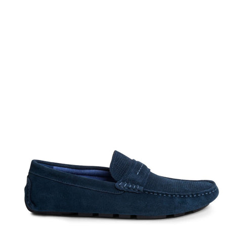 GARVINN BLUE SUEDE