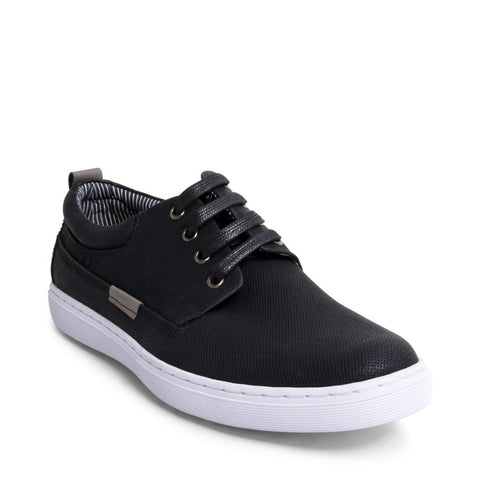 HALLIDAY BLACK NUBUCK