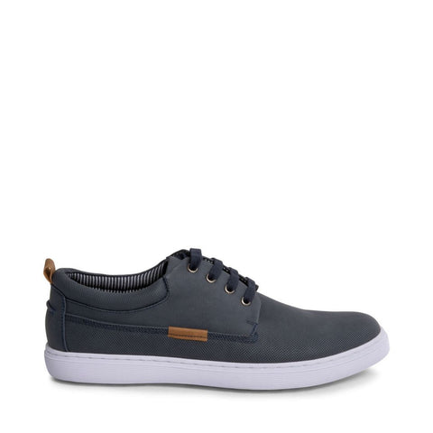 HALLIDAY BLUE NUBUCK