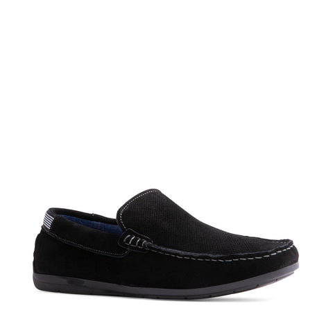KITTS BLACK SUEDE
