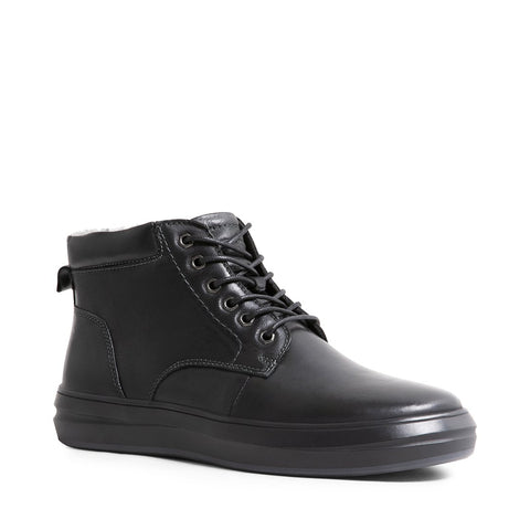 LAINE BLACK LEATHER