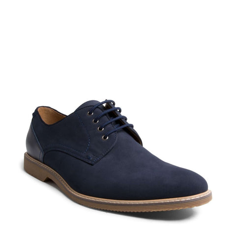 NEWSTEAD2 BLUE NUBUCK