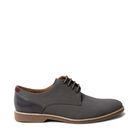 NEWSTEAD2 GREY NUBUCK