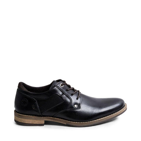 BARRIE BLACK LEATHER