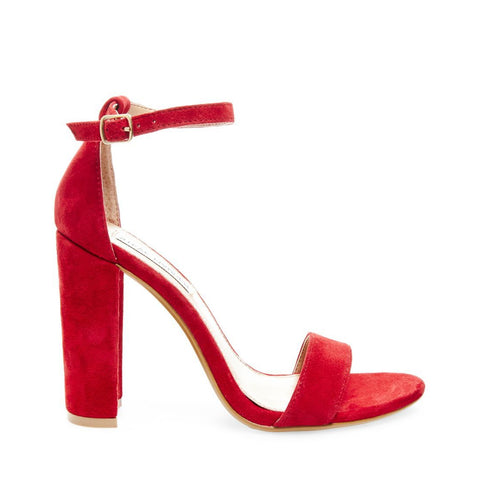 CARRSON RED SUEDE