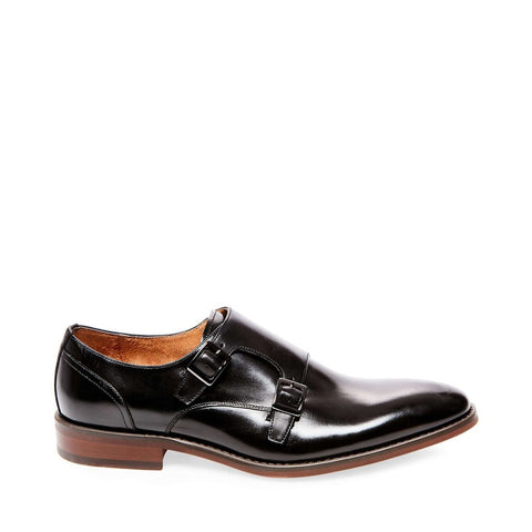 ELVIN BLACK LEATHER
