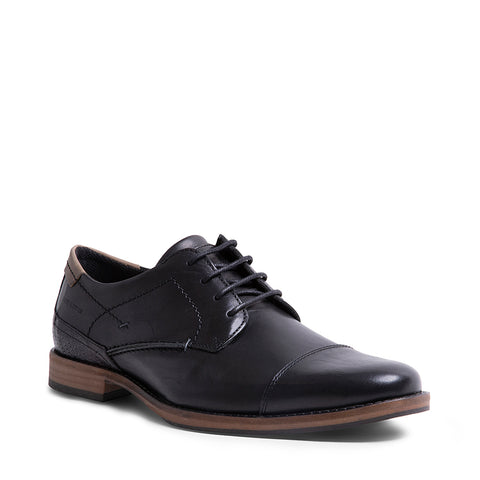 JOSSI BLACK LEATHER