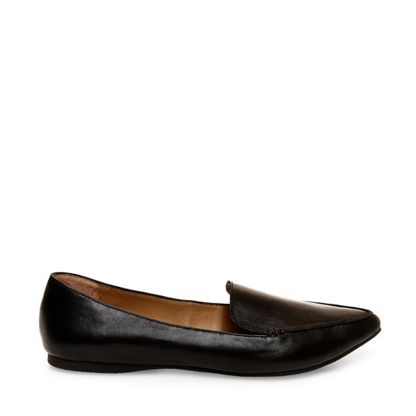 FEATHER BLACK LEATHER – Steve Madden Canada