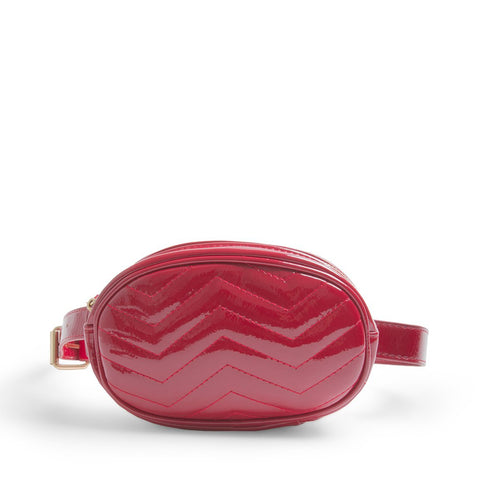 BJULIE RED PATENT