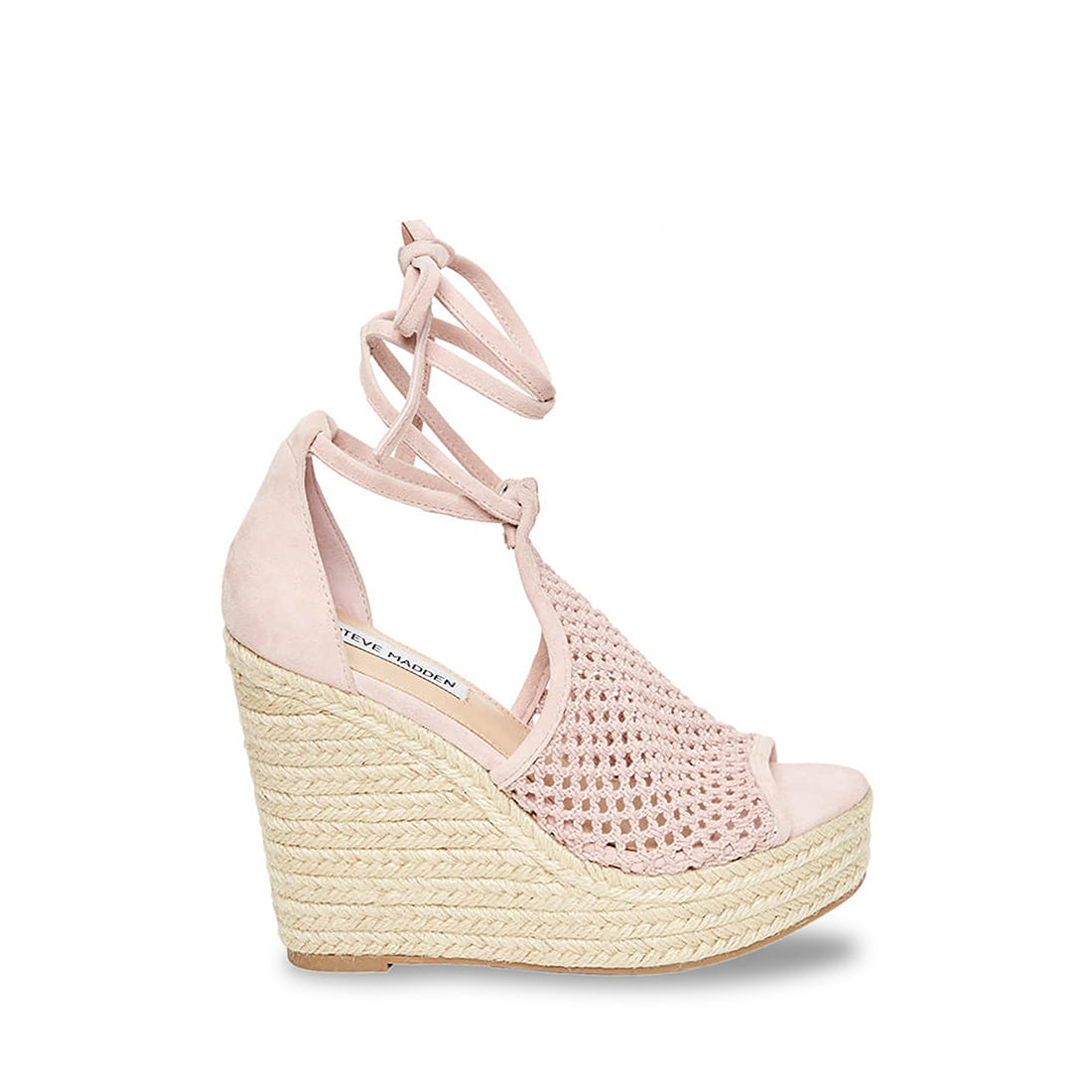 Sure Blush Suede by Steve Madden