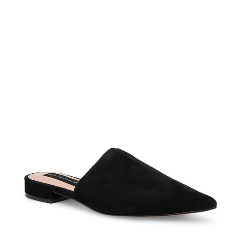 LAURYN BLACK SUEDE