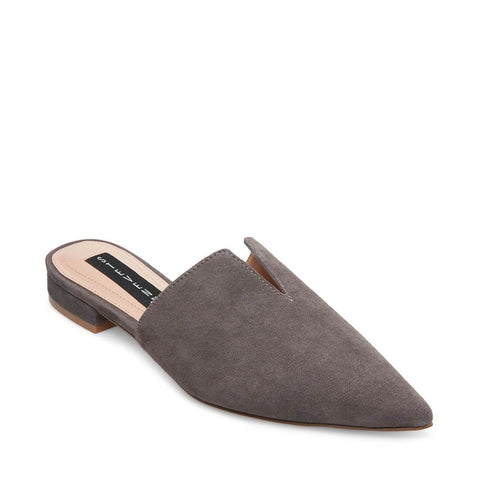 LAURYN GREY SUEDE