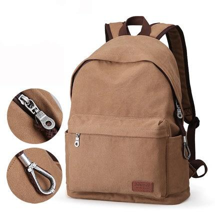 Canvas College Backpack - Gigatrendy.com