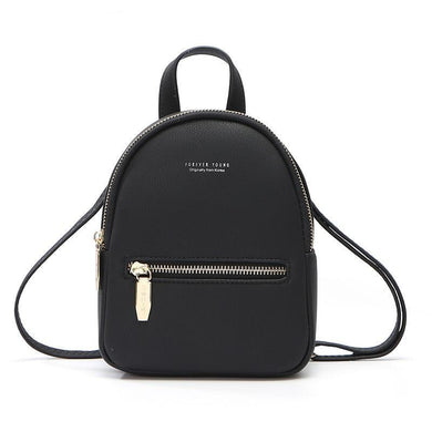 Giga Supreme Z-Style Leather Mini Backpack Purse | Gigatrendy.com