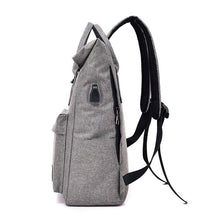 Load image into Gallery viewer, School Backpack,School Backpack. New Canvas College Backpack. | Gigatrendy.com