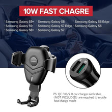 Load image into Gallery viewer, Wireless Charger CD Mount For Phone - Shop Gigatrendy.com Trending Products