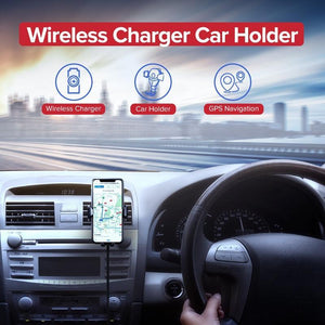 Car Phone Charger,Wireless Charger CD Mount For Phone | Gigatrendy.com