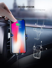 Load image into Gallery viewer, Car Phone Charger,Wireless Charger CD Mount For Phone | Gigatrendy.com